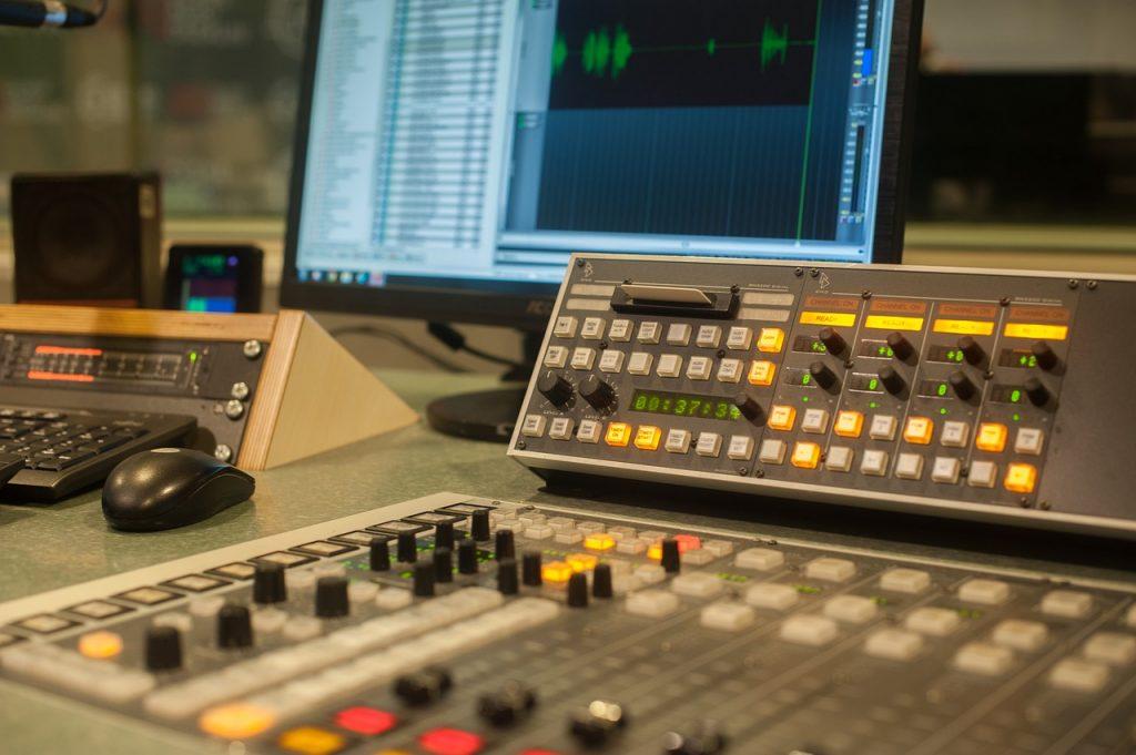 Radio Console Studio Audio Sound