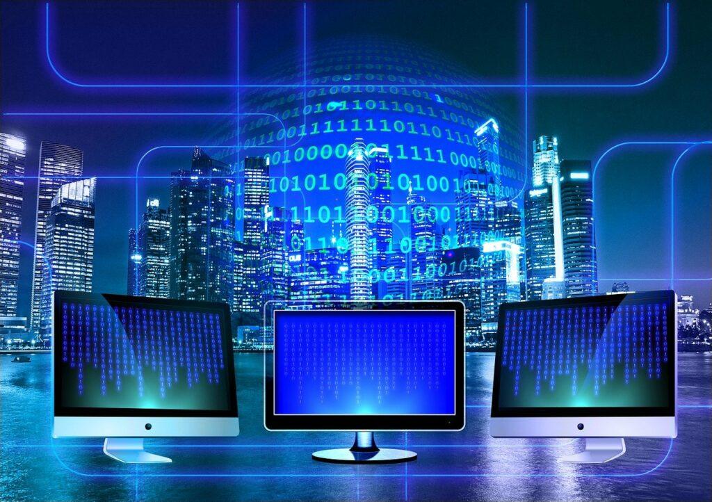Monitor Binary Binary System  - geralt / Pixabay